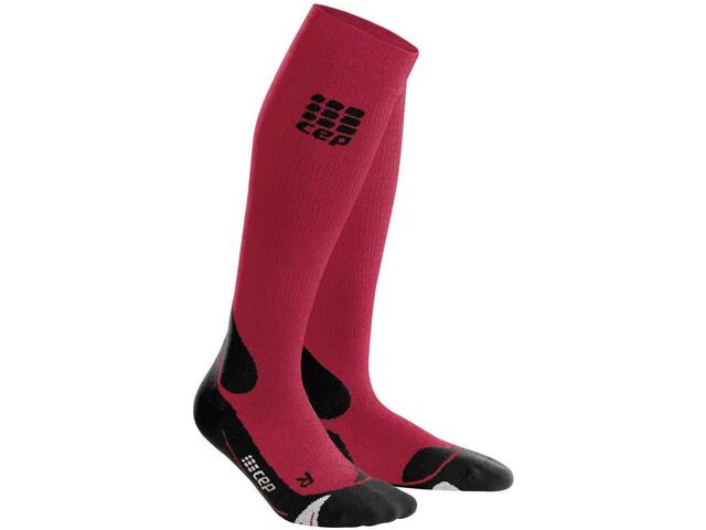 cep Pro+ Outdoor Merino Sokken Heren, dark red/black